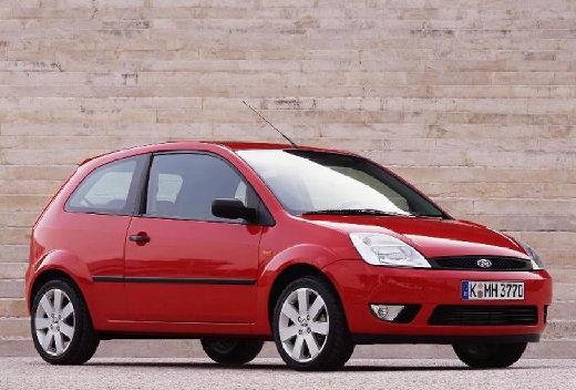 FORD Fiesta V hatchback czerwony jasny przedni prawy