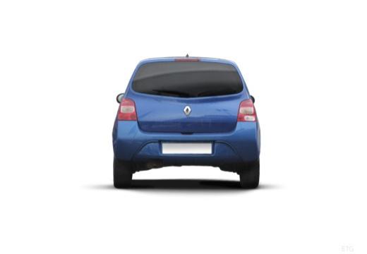 RENAULT Twingo IV hatchback niebieski jasny tylny