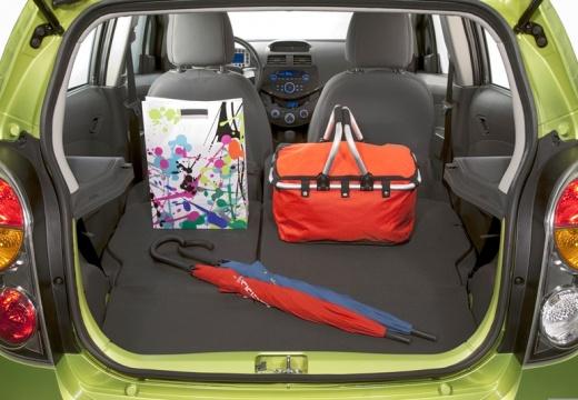 CHEVROLET Spark II hatchback przestrzeń załadunkowa