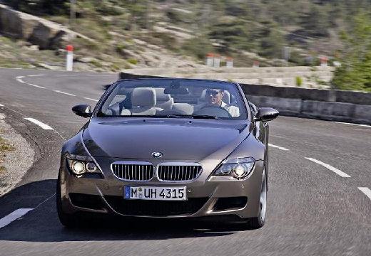 BMW Seria 6 Cabriolet E64 I kabriolet szary ciemny przedni