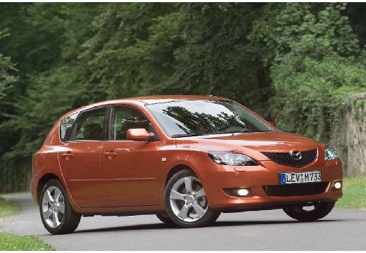 MAZDA 3 1.6 CD Sport Top Hatchback I 109KM (diesel)