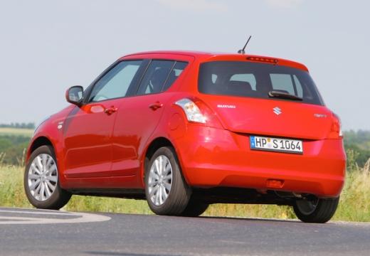 SUZUKI Swift II hatchback czerwony jasny tylny lewy