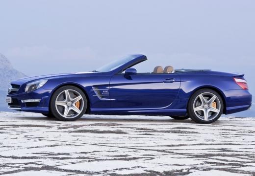 MERCEDES-BENZ Klasa SL SL 231 I roadster niebieski jasny boczny lewy
