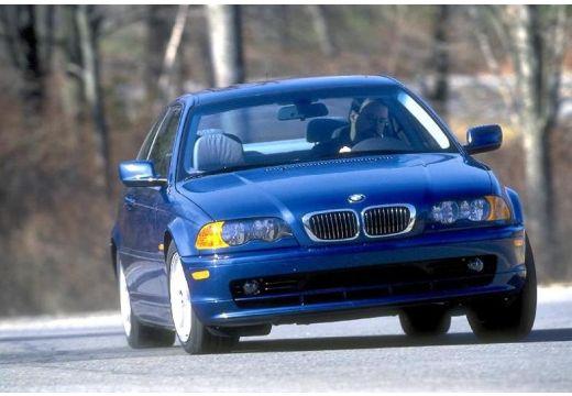 BMW Seria 3 coupe niebieski jasny przedni prawy