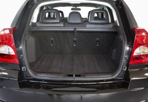 DODGE Caliber II hatchback czarny przestrzeń załadunkowa