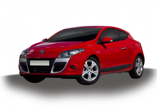 RENAULT Megane III Coupe I hatchback czerwony jasny