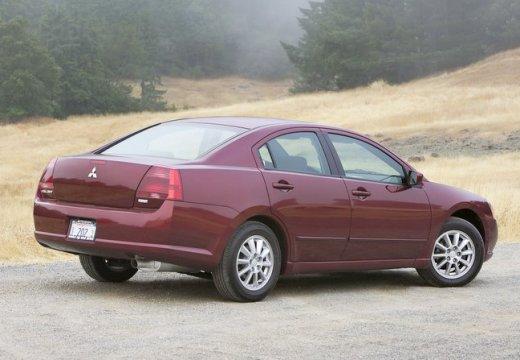 MITSUBISHI Galant USA II sedan bordeaux (czerwony ciemny) tylny prawy