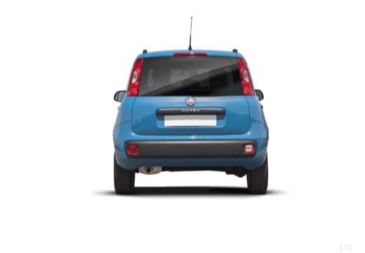FIAT Panda III hatchback niebieski jasny tylny