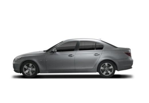 BMW Seria 5 sedan boczny lewy