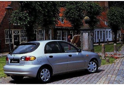 DAEWOO / FSO Lanos FSO hatchback silver grey tylny prawy
