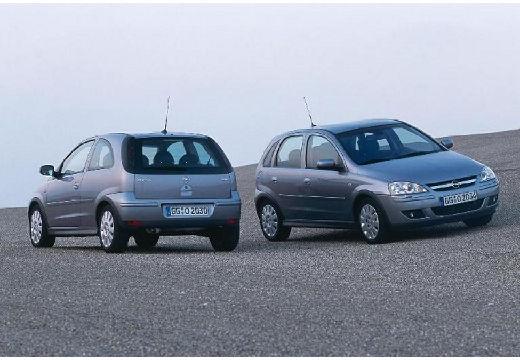 OPEL Corsa C II hatchback silver grey