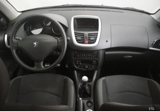 PEUGEOT 206+ hatchback tablica rozdzielcza