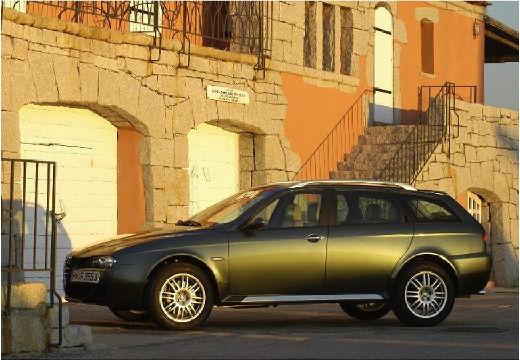 ALFA ROMEO 156 kombi zielony przedni lewy