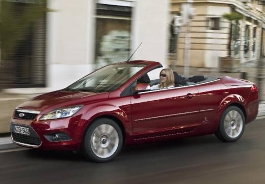 FORD Focus CC II kabriolet czerwony jasny przedni lewy