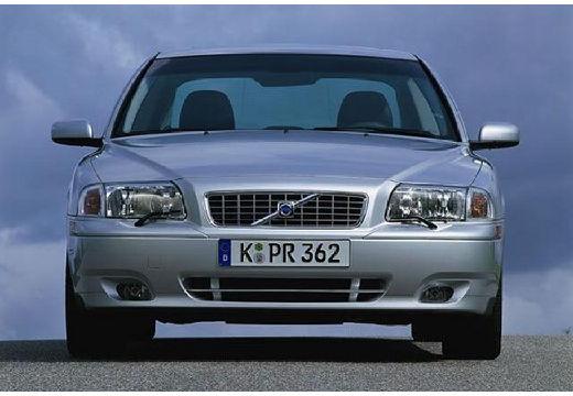 VOLVO S80 I sedan silver grey przedni