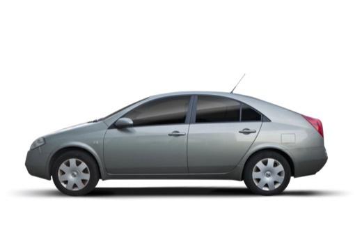 NISSAN Primera hatchback boczny lewy