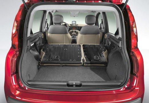 FIAT Panda III hatchback przestrzeń załadunkowa