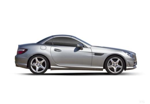 MERCEDES-BENZ Klasa SLK SLK R 172 roadster boczny prawy
