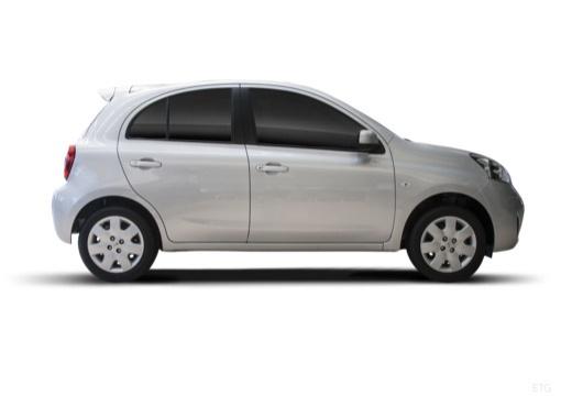 NISSAN Micra IX hatchback boczny prawy