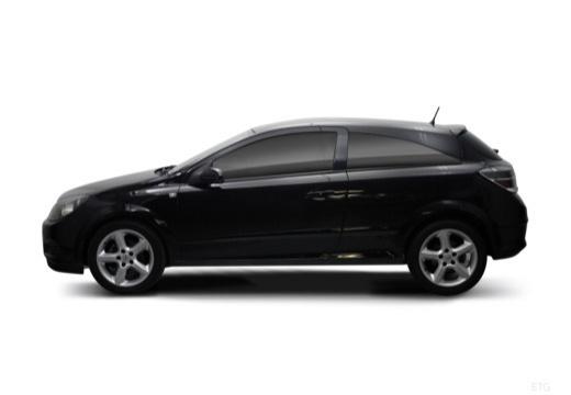 OPEL Astra III GTC II hatchback boczny lewy