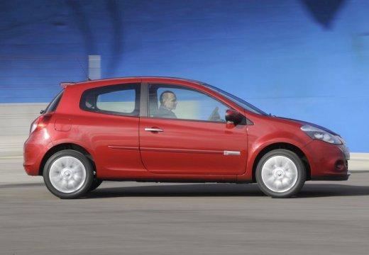 RENAULT Clio III II hatchback czerwony jasny boczny prawy