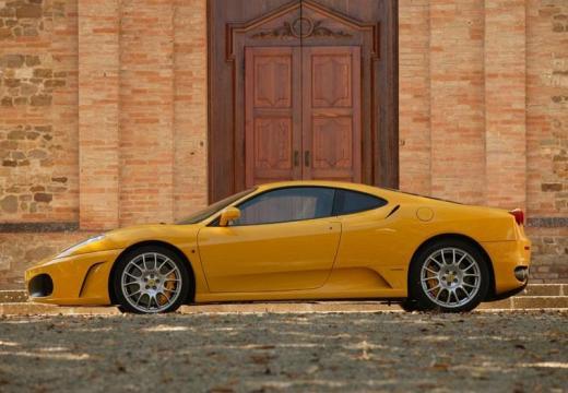 FERRARI 430 F coupe żółty boczny lewy