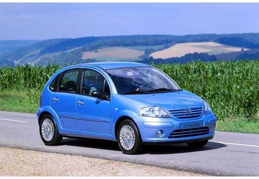 CITROEN C3 I hatchback niebieski jasny przedni prawy