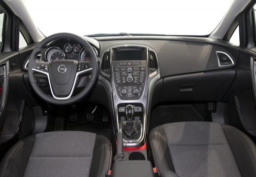 OPEL Astra IV II hatchback czarny tablica rozdzielcza