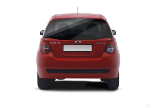 CHEVROLET Aveo II hatchback tylny