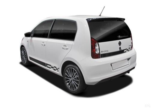 SKODA Citigo II hatchback tylny lewy