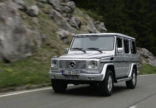 MERCEDES-BENZ G 500 Soft top 463 III 5.0 296KM (benzyna)