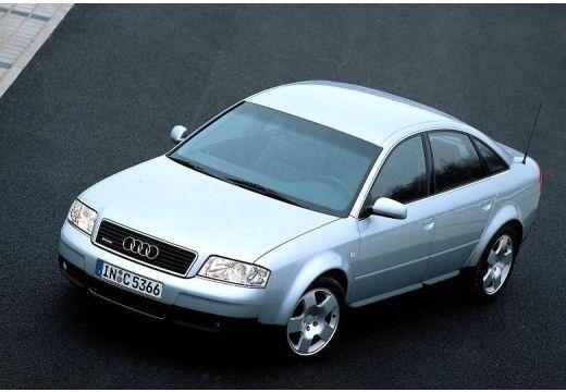 AUDI A6 sedan silver grey przedni lewy