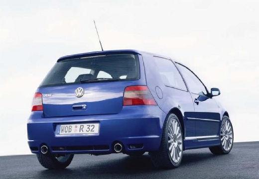 VOLKSWAGEN Golf IV hatchback niebieski jasny tylny prawy