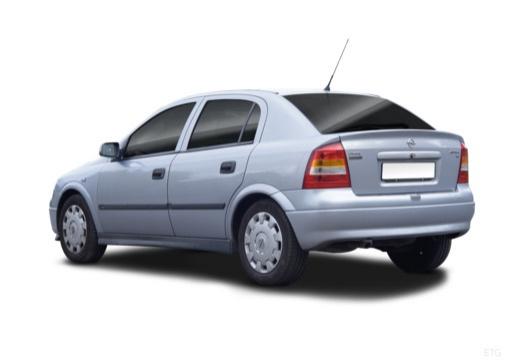 OPEL Astra II hatchback silver grey tylny lewy