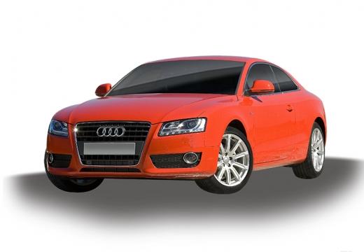 AUDI A5 I coupe czerwony jasny