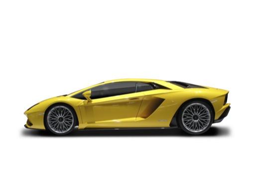 LAMBORGHINI Aventador coupe boczny lewy