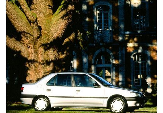 PEUGEOT 306 II sedan silver grey boczny prawy