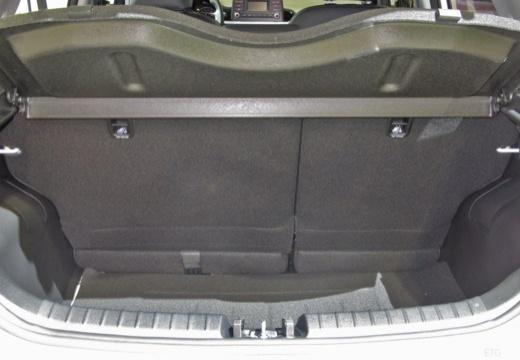 KIA Picanto V hatchback przestrzeń załadunkowa