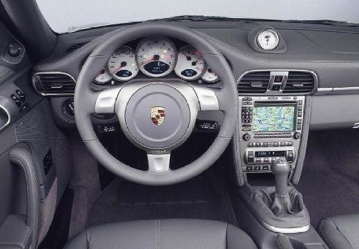 PORSCHE 911 Cabrio 997 kabriolet tablica rozdzielcza