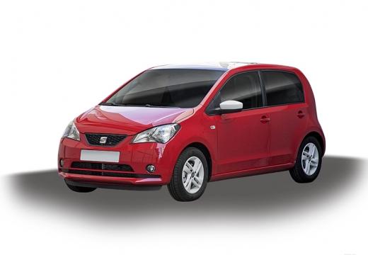 SEAT Mii I hatchback czerwony jasny