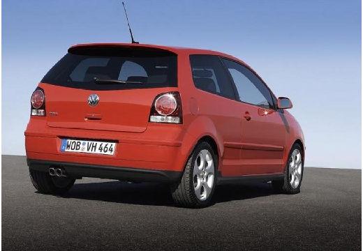 VOLKSWAGEN Polo IV II hatchback czerwony jasny tylny prawy