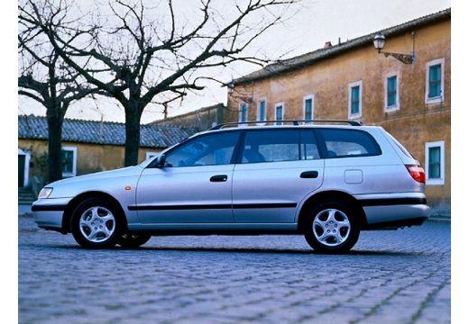 Toyota Carina E kombi silver grey boczny lewy