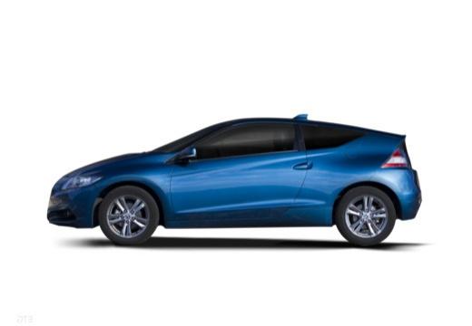 HONDA CR-Z coupe niebieski jasny boczny lewy