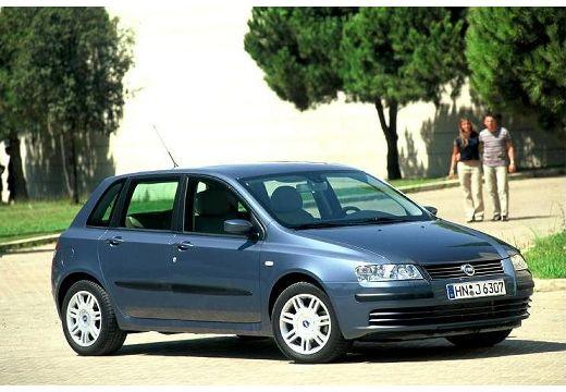 FIAT Stilo II hatchback szary ciemny przedni prawy