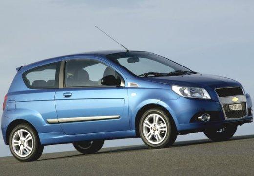 CHEVROLET Aveo II hatchback niebieski jasny przedni prawy