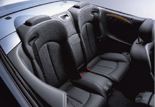 MERCEDES-BENZ Klasa CLK CLK Cabriolet A 209 I kabriolet silver grey wnętrze