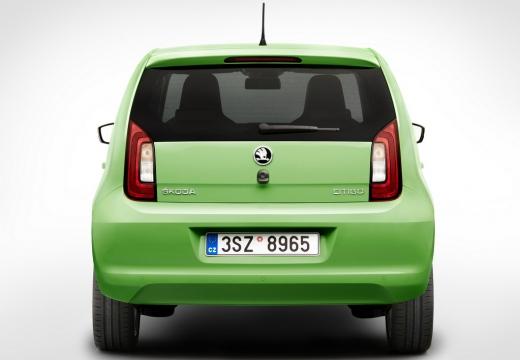 SKODA Citigo II hatchback zielony tylny
