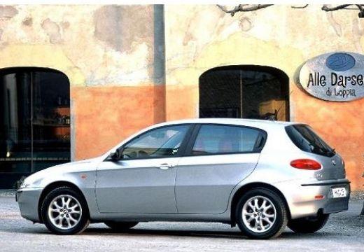 ALFA ROMEO 147 I hatchback silver grey boczny lewy