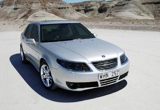 SAAB 9-5 III sedan silver grey przedni prawy