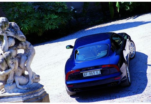 MASERATI 3200 coupe niebieski jasny tylny prawy